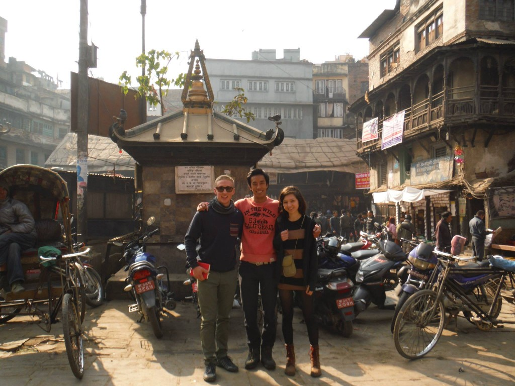 SVPI volunteers in Nepal