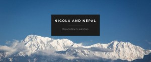 Nicola and Nepal