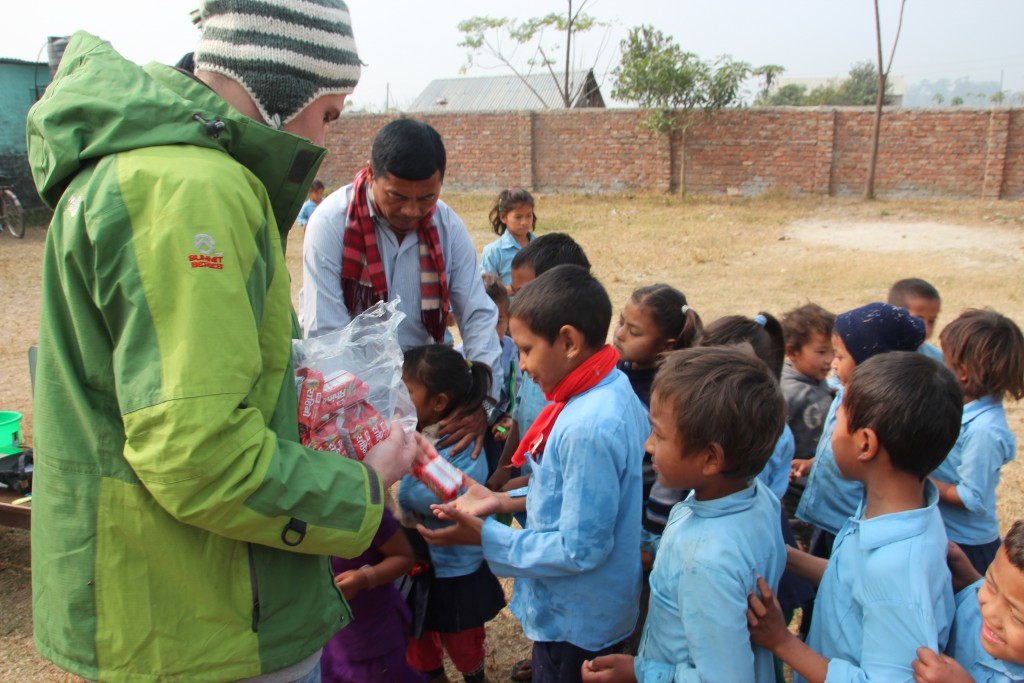 SVPI volunteer in Nepal.