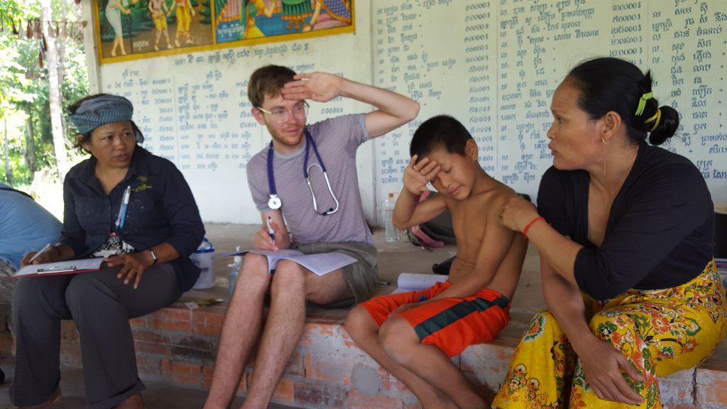 Cambodia volunteer