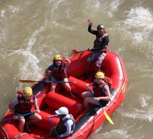 Schoolies rafting adventure